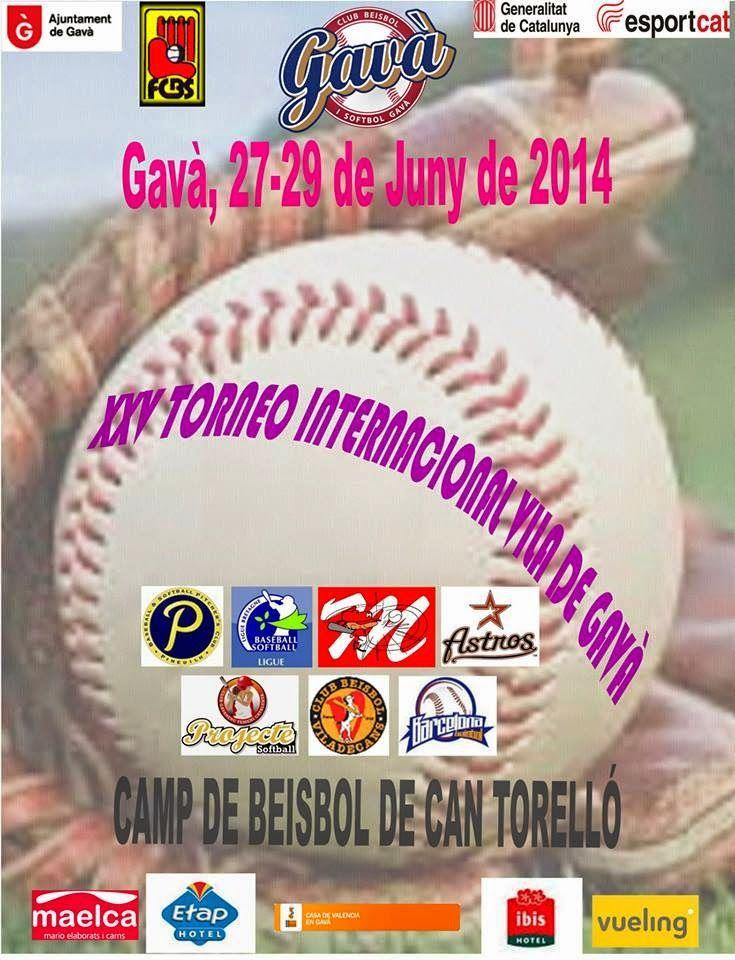 XXV Torneo Internacional de Beisbol Vila de Gavà
