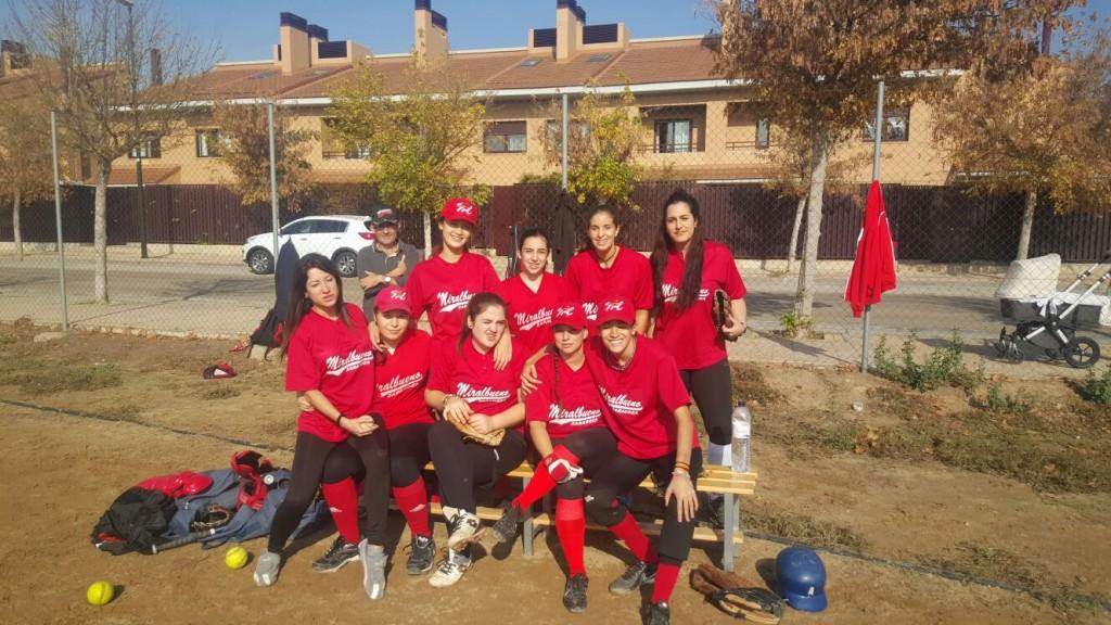 equipo de sofbol miralbueno